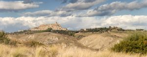 Panorama Craco Ghost Town